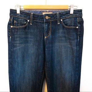 Paige Laurel Canyon Women Size 27 Jeans Dark Wash
